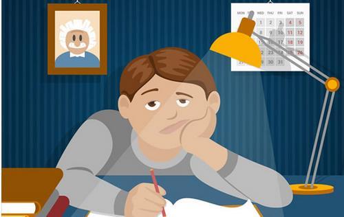 孩子:考试焦虑可以改变